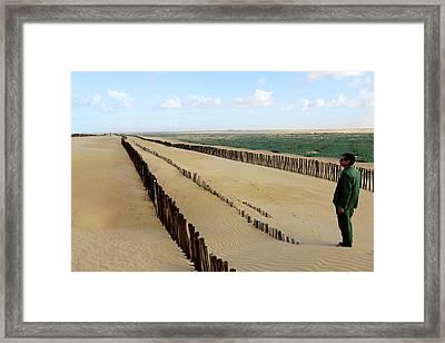 Desertification Prevention Framed Print