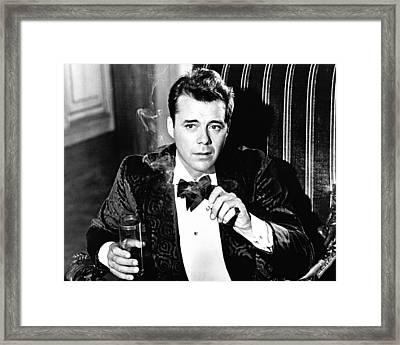 Dirk Bogarde Framed Print by Silver Screen