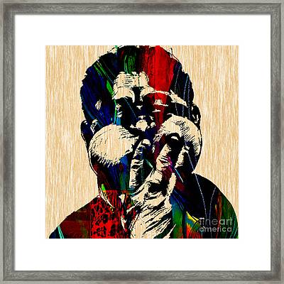 Dizzy Gillespie Collection Framed Print by Marvin Blaine