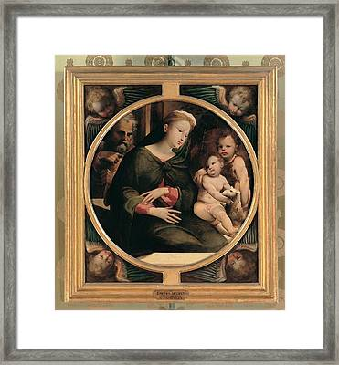 Domenico Di Giacomo Di Pace Known Framed Print by Everett