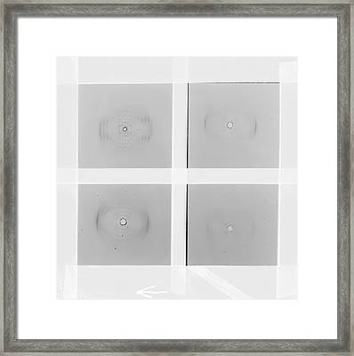 Early Dna Research Framed Print