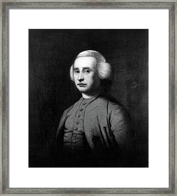 Edmund Burke (1729-1797) Framed Print