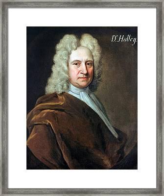 Edmund Halley (1656-1742) Framed Print by Granger