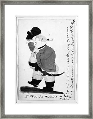 Edward Gibbon (1737-1794) Framed Print