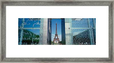 Eiffel Tower Paris France Framed Print by Panoramic Images