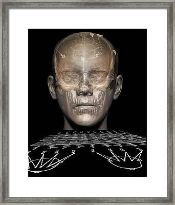 Electroencephalography Framed Print