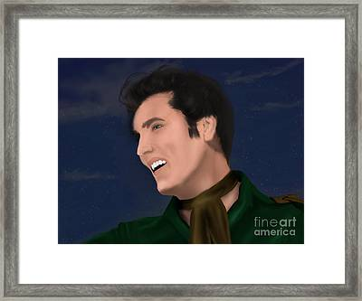 Elvis Presley    Loving You Framed Print