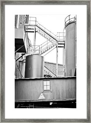 Factory Framed Print by Tom Gowanlock