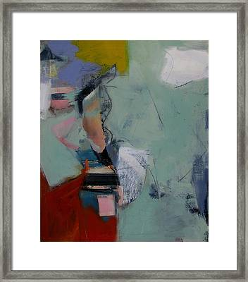 Framed Print featuring the painting Figure Study by Fred Smilde
