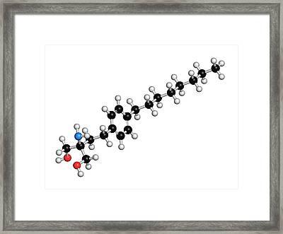 Fingolimod Multiple Sclerosis Drug Framed Print by Molekuul