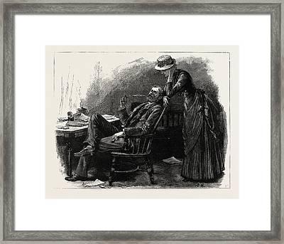 First Person Singular Framed Print