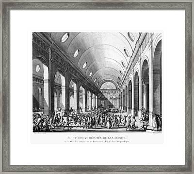 French Revolution, 1793 Framed Print by Granger