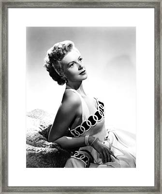 From Here To Eternity, Deborah Kerr Framed Print by Everett