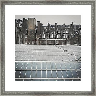 #glasgow #scotland #myholiday2013 Framed Print