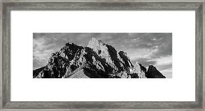 Grand Teton Park, Wyoming, Usa Framed Print