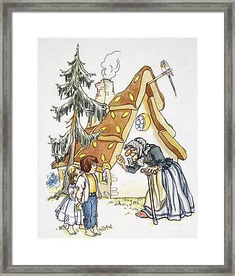 Grimm: Hansel And Gretel Framed Print