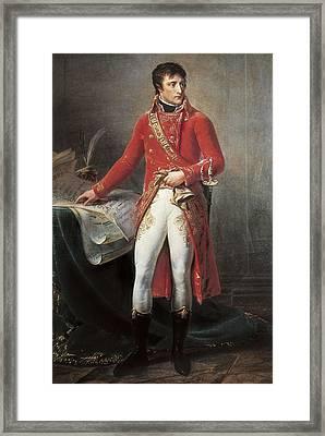 Gros, Antoine Jean, Baron 1771-1835 Framed Print by Everett
