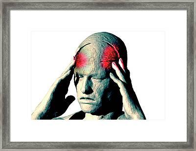 Headache Framed Print by Carol & Mike Werner