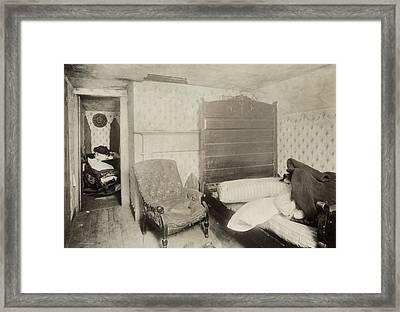 Hine Mill Housing, 1912 Framed Print