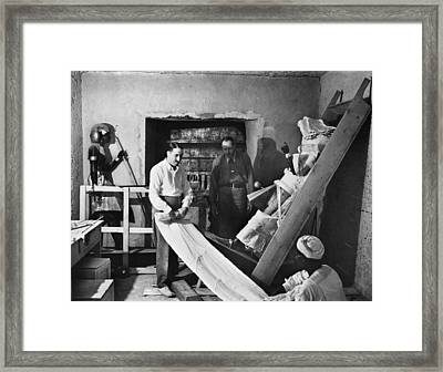 Howard Carter (1873-1939) Framed Print by Granger