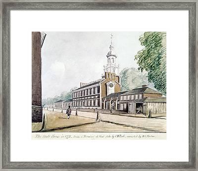 Independence Hall Framed Print by Granger