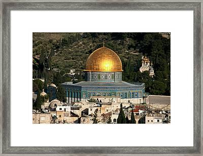 Israel, Jerusalem Framed Print by David Noyes