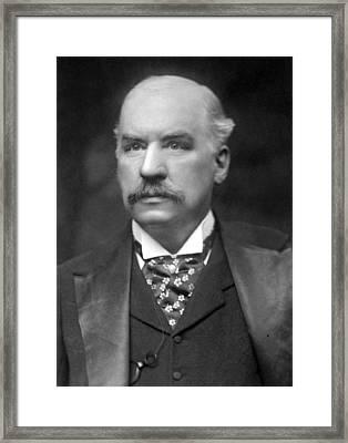 John Pierpont Morgan (1837-1913) Framed Print