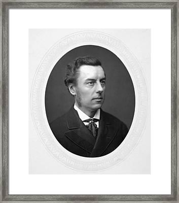 Joseph Chamberlain (1836-1914) Framed Print