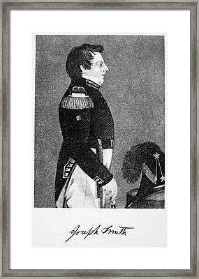 Joseph Smith (1805-1844) Framed Print by Granger