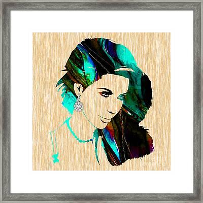 Kim Kardashian Collection Framed Print