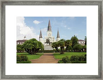 La, New Orleans, French Quarter Framed Print by Jamie and Judy Wild