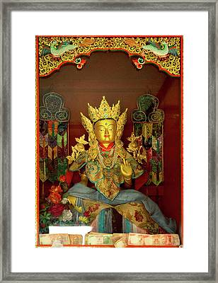 Ladakh, India The Interior Framed Print by Jaina Mishra
