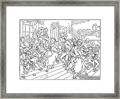 Legend Of Sleepy Hollow Framed Print