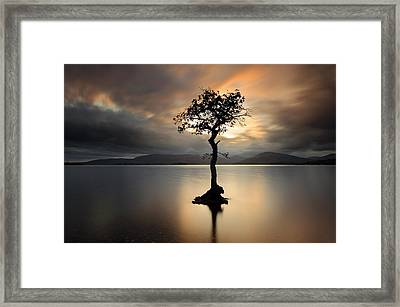 Loch Lomond Sunset Framed Print