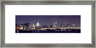 London Night Framed Print