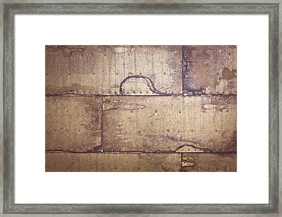 Metallic Background Framed Print by Tom Gowanlock