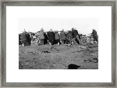 Mexican Revolution, 1911 Framed Print by Granger