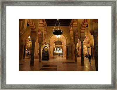 Mezquita De Cordoba Framed Print