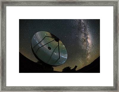 Milky Way Over La Silla Observatory Framed Print