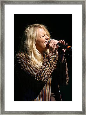 Miranda Lambert Framed Print by Don Olea