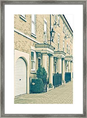 Modern Homes Framed Print