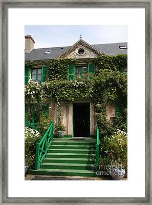Monets Garden - Giverney - France Framed Print by Christiane Schulze Art And Photography