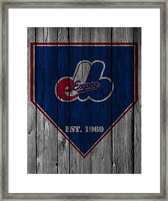 Montreal Expos Framed Print by Joe Hamilton