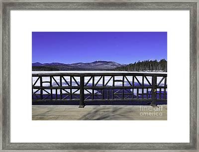 Mount Chocorua Framed Print