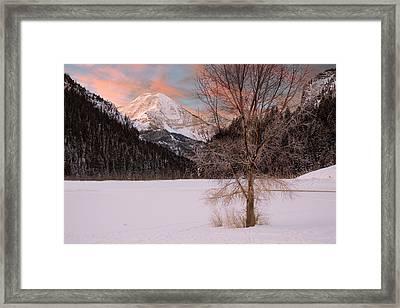 Mount Timpanogos Framed Print by Utah Images