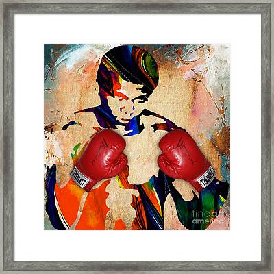 Muhammad Ali Collection Framed Print