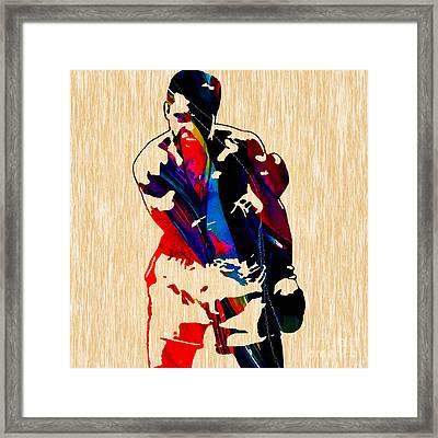 Muhammed Ali Framed Print by Marvin Blaine