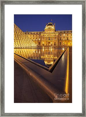 Musee Du Louvre Framed Print by Brian Jannsen