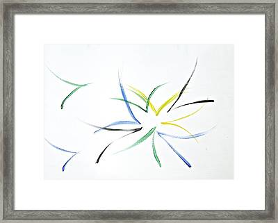 Framed Print featuring the painting Simplicity by Tracey Myers
