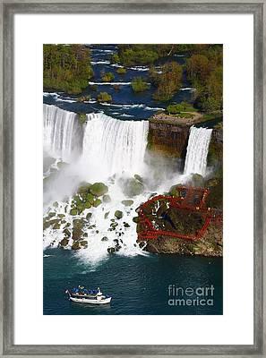 Niagara Falls New York Framed Print